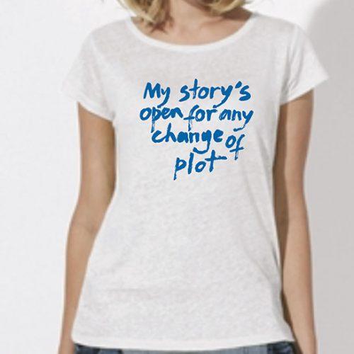 Tricou-fete-My-story—alb