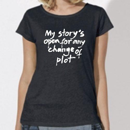 Tricou-fete-My-story—negru