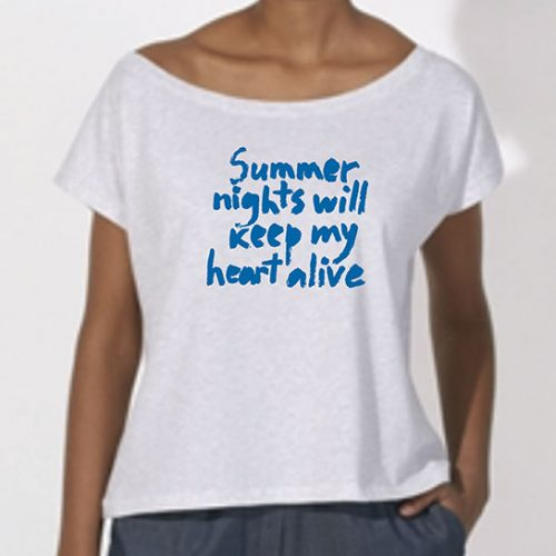 Tricou-fete-oversized-Summer-nights—alb